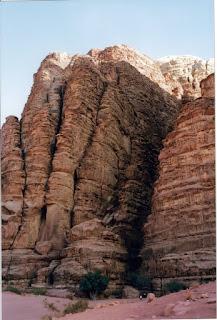 Desierto Wadi Rhum. Jordania