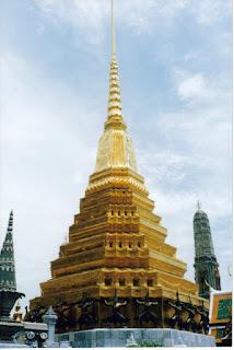 Estupa en Palacio Real, Bangkok
