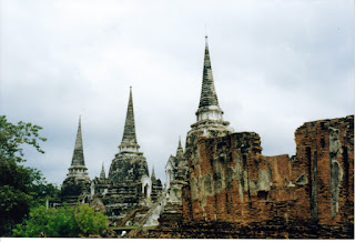 Ruinas del reino de Ayutthayah