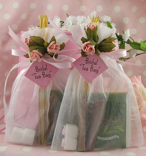 gifts for your guests tea favors
