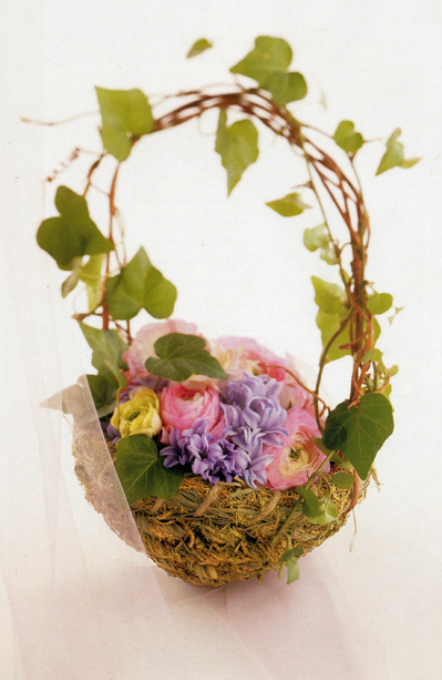 Do It Yourself Weddings DIY Flower Baskets From Save On Crafts