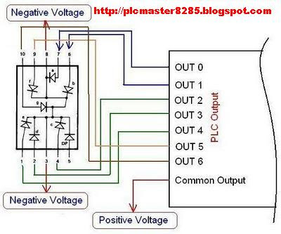 Wiring+Diagram+seven+Cathode+segment+with+PLC 100 [ wiring diagram plc mitsubishi ] motor control circuit plc wiring diagrams at crackthecode.co