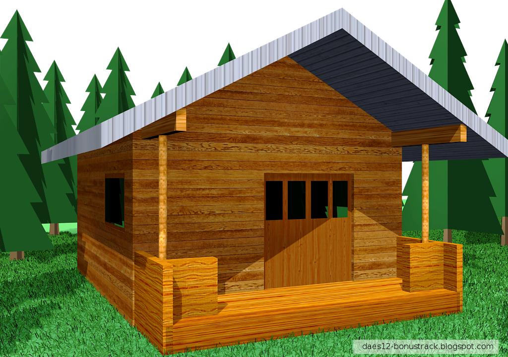 La casa de palos