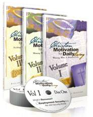 A magnificent 3-volume CD series (18 CDs total), Christian Motivation for Daily Living consists of powerful lessons that best-selling author and personal achievement legend Zig Ziglar learned from more than 77 years of living.