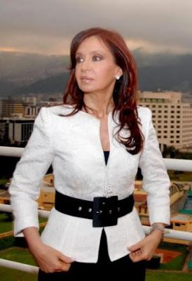 A presidente da Argentina, Cristina Kirchner anuncia pagamento da dívida com o Clube de Paris