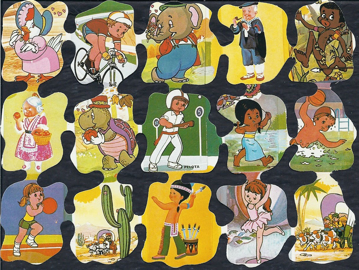 CROMOS PARA JUGAR INFANTILES: DEPORTES : ACTIVIDADES PARA NIÑOS
