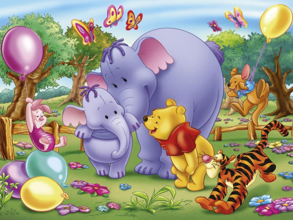 Fondos de pantalla infantiles winnie the pooh y
