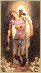 He carried us
