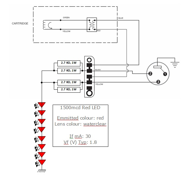 dynamic mic u0026 39 s with led lights  led test circuit