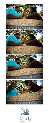 armwrestle+copy Latia & Courtney Engaged!