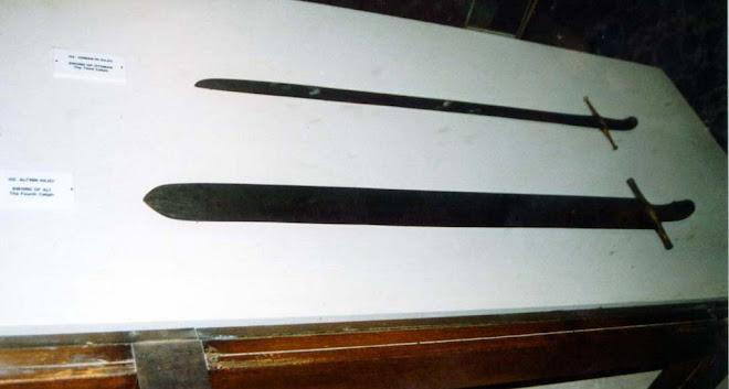 SWORD OF HAZRAT ABUBAKR SIDDIQ RAZI ALLAH TALA ANHA