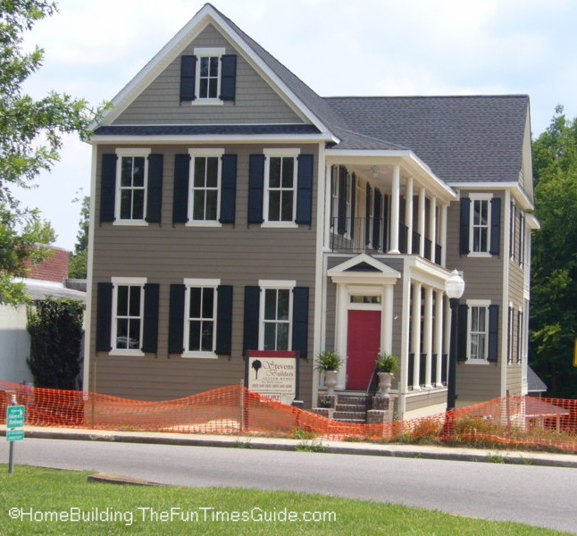 Front Elevation Colonial : More than i can chew so what s a coastal style colonial