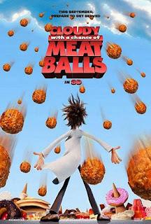 Asperger's, autism, jokes, movies, noise sensitivity, reviews, sensory friendly films, sensory integration disorder, Cloudy with a Chance of Meatballs