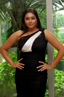 Film Actress Photos: Namitha Showing Her Busty Back In ...