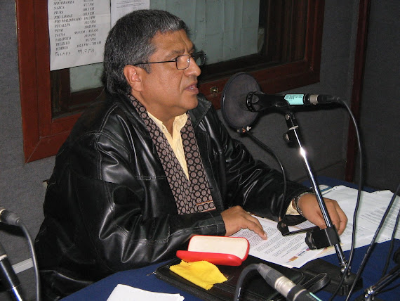 EN RADIO NACIONAL DE PERÚ