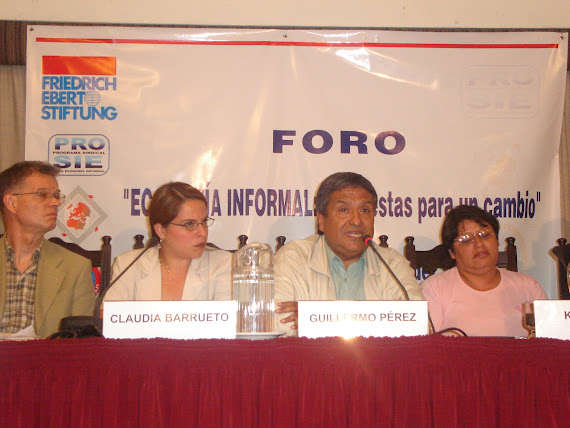 DIÁLOGO CON PARTIDOS POLÍTICOS, ECONOMÍA INFORMAL RETOS Y PERSPECTIVAS