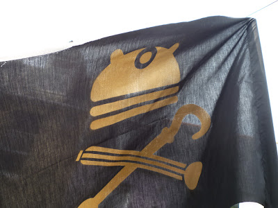 dalek pirate party flags