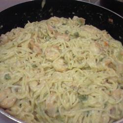 peppered shrimp alfredo ingredients 12 ounces penne pasta 1 4