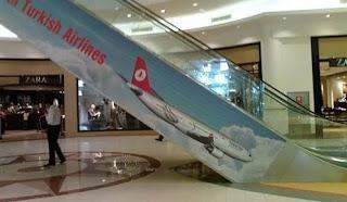 Publicidad desafortunada de aerolineas turcas
