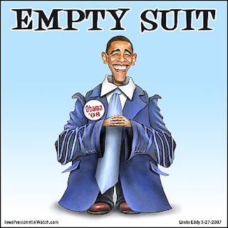 Obama - the Empty Suit