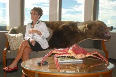 Sarah Palin's nice gams
