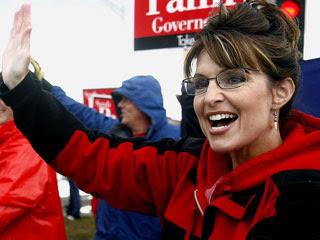 Palin campaigning