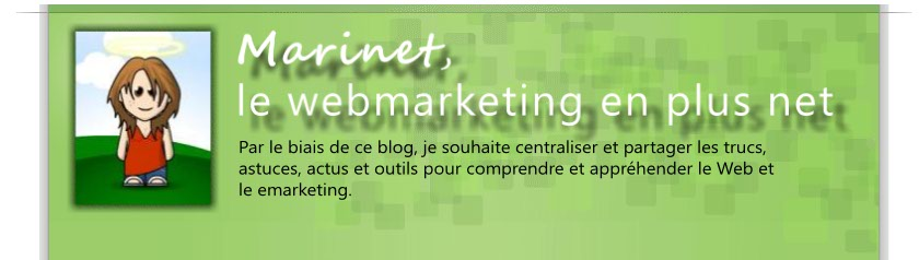 Marinet, le webmarketing en plus net