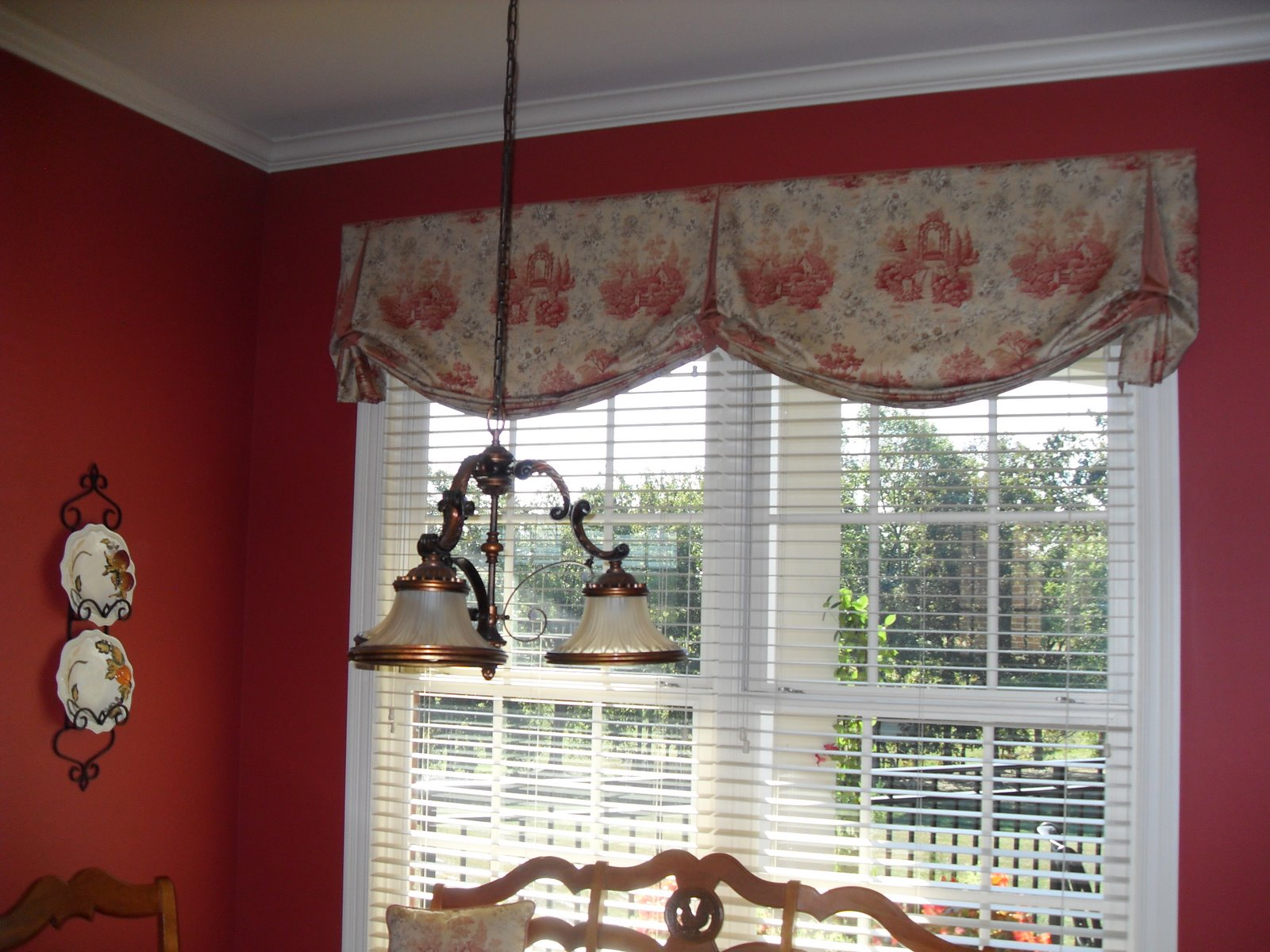 Valances For Windows With Blinds : Louisville blinds and drapery valances