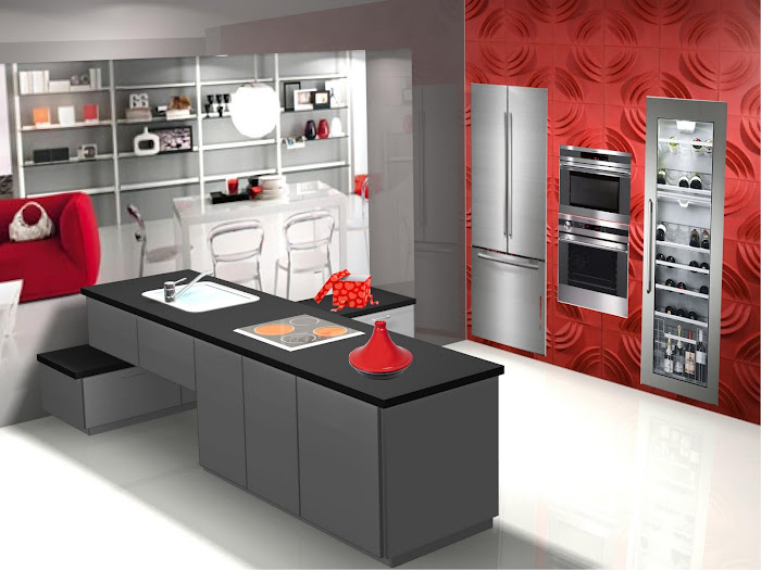 Sencillo diseño de cocina