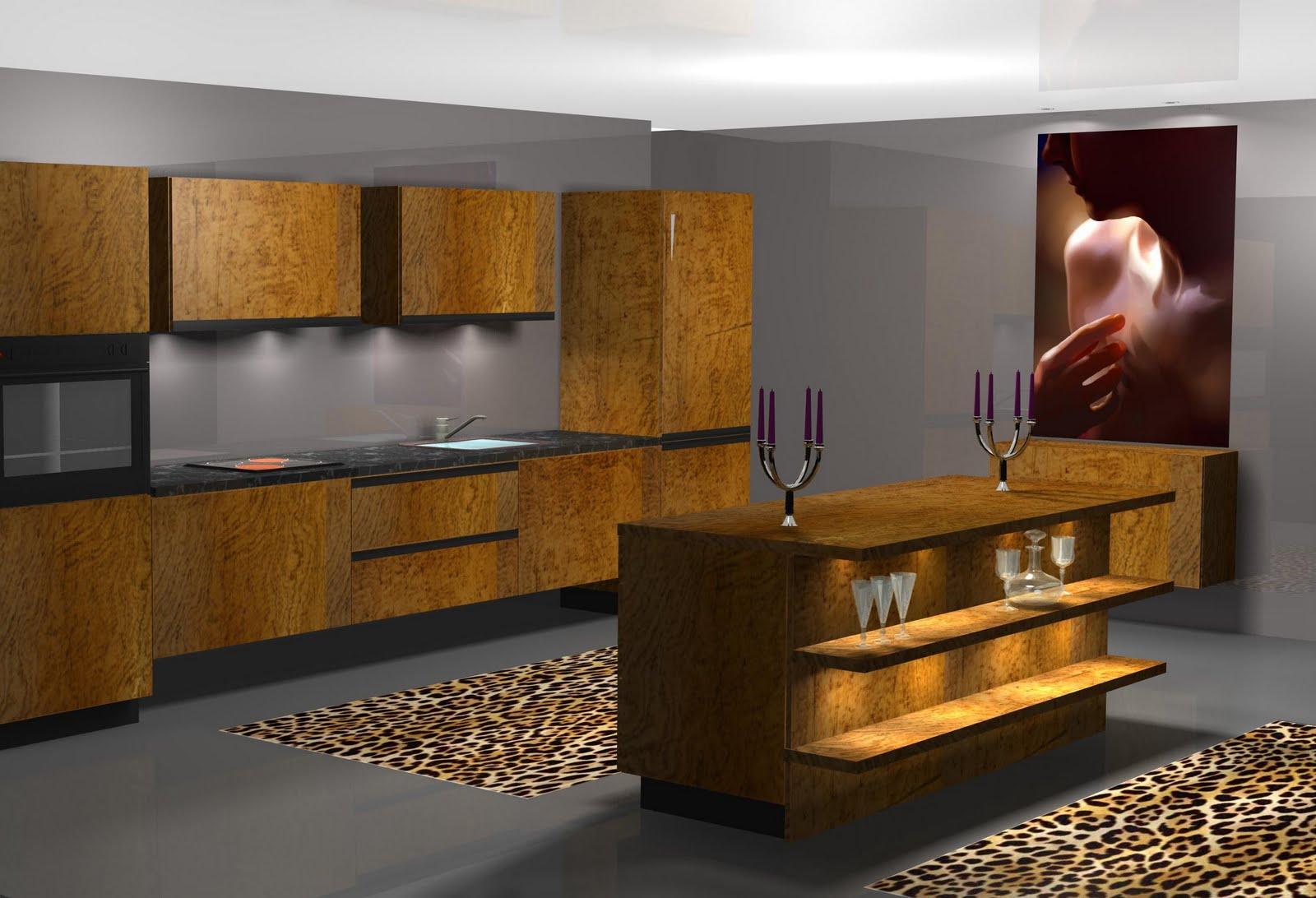 Dise o muebles de cocina dise o de cocina alto standing for Diseno muebles cocina