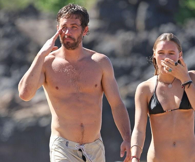 Sxf >> Watt-up: Paul Walker & GIRLFRIEND in Hawaii