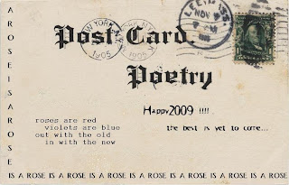 Postcard Poetry