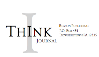 THINK JOURNAL, logo with address