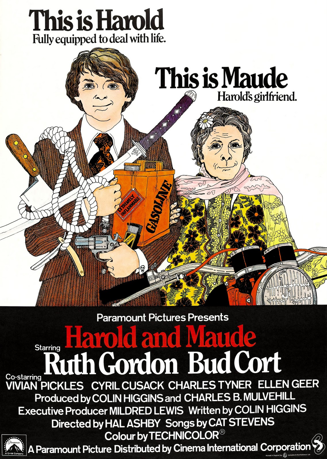 "Movie: ""Harold And Maude"" – Summary And Analysis Of The Movie's Very First Minutes"