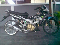 Modifikasi Satria Fu Full Drag Racing