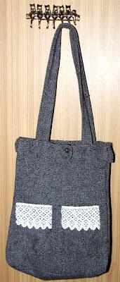 recycled tote bag torba na zakupy recyklingowa