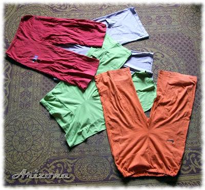 yoga pants handmade sew