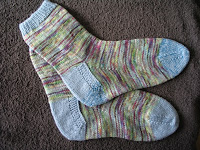 Socks in Araucania Ranco Multy