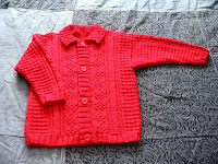 Red Stephane cardigan