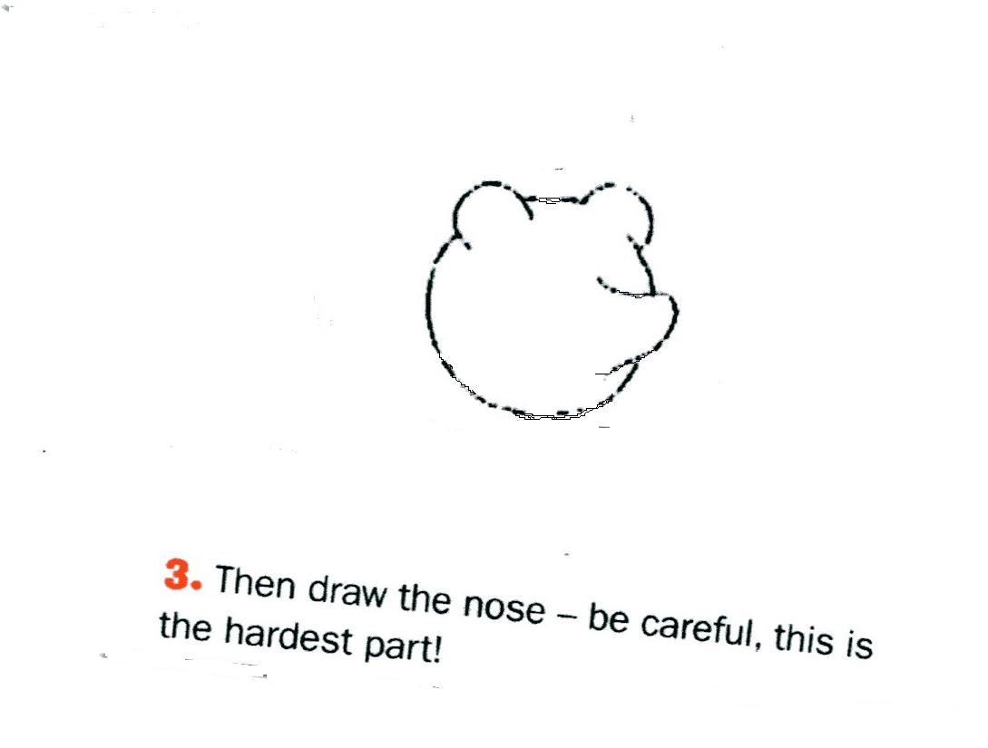 Mascottblog comment dessiner un nounours - Dessiner un nounours ...