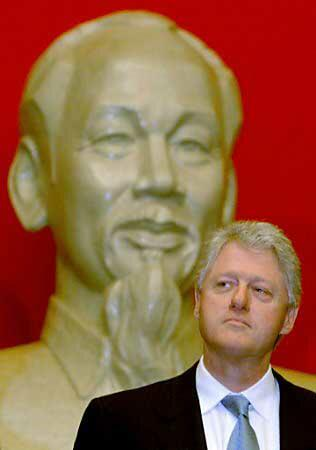 Bill Clinton and Ho CHi Minh