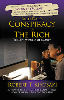 Portada Libro : La conspiracion de los Ricos.