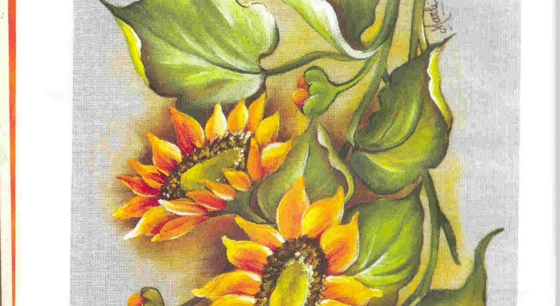 Aparador De Acrilico Transparente ~ Girassol para pintura em tecido Desenhos e Riscos