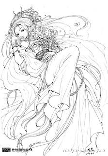 desenhos Animes para colorir