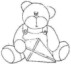 riscos de ursos e bebê riscos de ursos e bebê