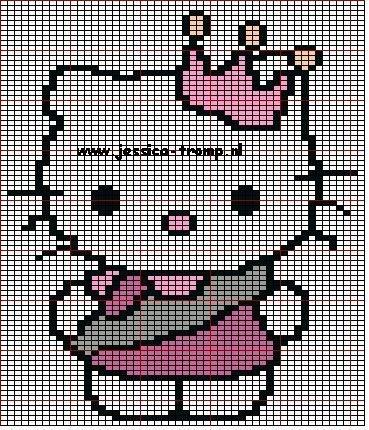 Hello Kitty em Ponto Cruz