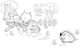 Gatos para imprimir e colorir