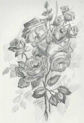 Desenhos de Rosas