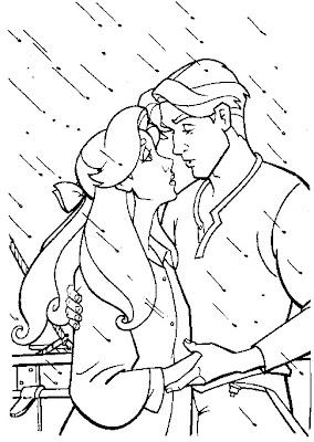 desenhar Princesa Anastacia e colorir