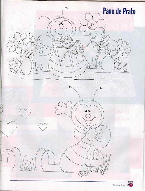 Abelha-para-pintar-bee-coloring